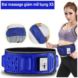 [Loại 1]Đai massage giảm béo X5 Hàn Quốc, đai massage đánh tan mỡ bụng - DMXX518 thumbnail