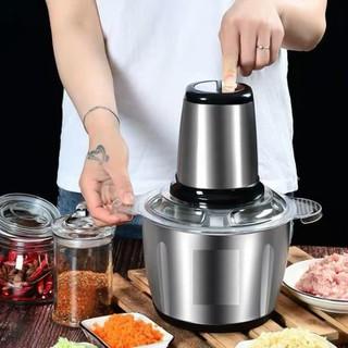 Máy say thịt - máy say sinh tố cầm tay, cực khỏe, đa năng, cối xay inox - 2905202102 thumbnail