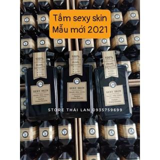 Sữa tắm nước hoa Pháp Sexy_Skin Màu đen PEARL - sữa tắm sexy skin đen 2