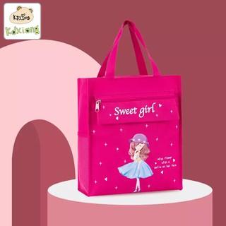 Túi vải cho bé đeo vai - Túi Vải Đựng Đồ Đa Năng xuất Hàn - TXDHNHCB13 thumbnail