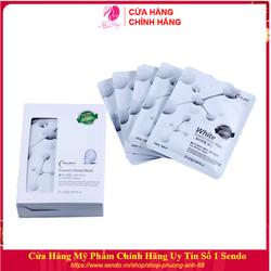 Combo Hộp 10 Túi Mặt nạ dưỡng da - Mặt nạ giấy White làm trắng & cung cấp khoáng chất HOLIKEY Hàn Quốc 25mlx10