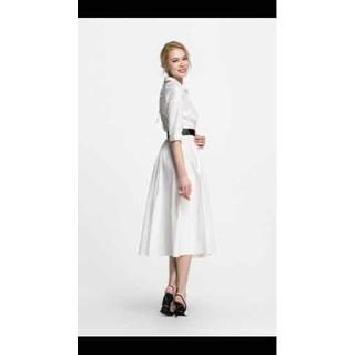 Đầm sơ mi trắng dài - D62 thumbnail