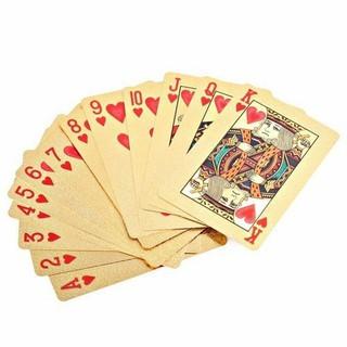 Bộ tú lơ khơ thẻ bài mạ vàng siêu đẹp - 0705 thumbnail
