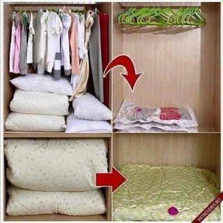 1 bộ Túi hút chân không đựng gọn chăn màn quần áo 8 túi - kshg231nb221 thumbnail