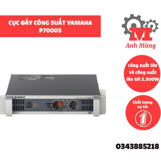 Cục đẩy g suất P7000S cao cấp chuyên dùng cho dàn âm thanh sân khấu phòng karaoke - 4105084995 thumbnail