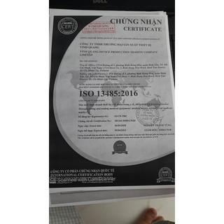 Khẩu trang y tế than hoạt tính 4 lớp VINH QUANG Mask kháng khuẩn 99% VI KHUẨN VÀ BỤI MỊN - QC KHẨU TRANG 4 LỚP 8