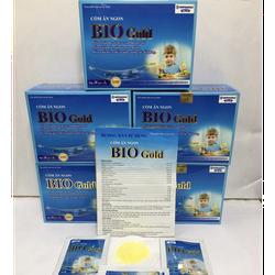 (CAM KẾT CHẤT LƯỢNG) (Chính Hãng) Cốm ăn ngon cho bé Bio Gold bổ sung lợi khuẩn , hỗ trợ hệ tiêu hóa  - Hộp 20 gói hàng chính hãng sản phẩm y hình