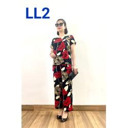 Thời Trang Trung Niên - Bộ Lanh cao cấp ( đã qua xử lý co ) - đủ size từ 47 - 70kg -  dành cho quý bà 2021 - Laddy Store
