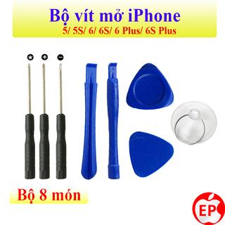 Bộ tua vít 8 món mở điện thoại iPhone, Oppo, Samsung, Nokia giá rẻ - tua vit 8 mon thumbnail