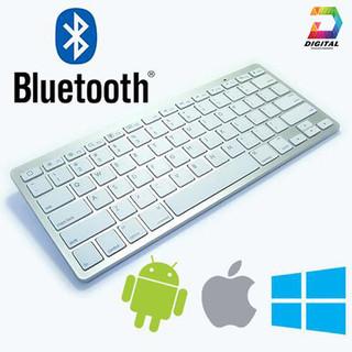 Bàn Phím Bluetooth Mini Cho Smartphone, iPad, Máy Tính Cao Cấp - Bàn Phím Bluetooth KB16 thumbnail
