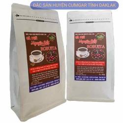 [giá dừng thử 500g cà phê ROBUSTA mới thu hoạch thơm ngon RANG XAY trực tiếp tại huyện CƯMGAR tỉnh DAKLAK] 500g cà phê dạng bột ROBUSTA vụ mùa mới cam kết 100% nguyên chất-thơm ngon