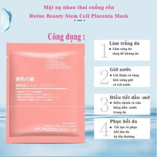COMBO 10 MẶT NẠ DƯỠNG DA TẾ BÀO GỐC NHAI THAI CỪU NHẬT BẢN - 2543 thumbnail