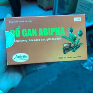(chính hãng) (Chi nh Ha ng) Bổ gan abipha giải độc gan bảo vệ gan luôn mạnh khoẻ, sản phẩm chất lượng, đảm bảo an toàn sức khỏe người sử dụng, cam kết hàng giống hình - 8597230 thumbnail