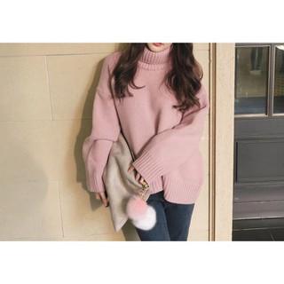 Áo len nữ cổ lọ form rộng hàng Quảng Châu loại 1 MSP438 - HE5922N thumbnail