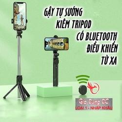 [HÀNG CAO CẤP] Gậy Chụp Ảnh Tự Sướng 3in1 có Bluetooth ,3 Chân Đa Năng, Chụp Hình, Giá đỡ điện thoại livestream