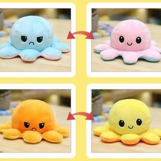 Bạch Tuộc nhồi bông có thể đổi màu đổi cảm xúc siêu độc đáo - Size - To thumbnail
