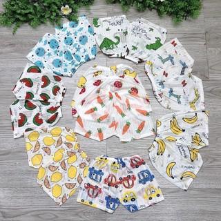 Quần đùi chục cotton giấy cho bé cực đẹp cực mát - quangiay thumbnail