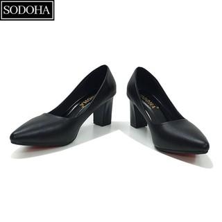 Giày Cao Gót Nữ SODOHA SDH570 Đế Cao 7cm - 2546_44886047 thumbnail