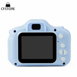 ht779 thoco Bộ máy ảnh kỹ thuật số màn hình 2inch thiết kế xinh xắn đồ chơi cho trẻ em kèm phụ kiện
