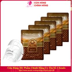 Combo 10 Túi Mặt nạ dưỡng da - Mặt nạ giấy chiết xuất nhau thai cừu 3W Clinic Hàn Quốc 23mlx10