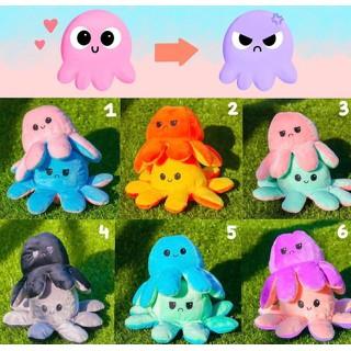 Bạch Tuộc Cảm Xúc 2 mặt đổi màu siêu đáng yêu - Size Nhỏ thumbnail