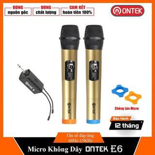 Micro chính hãng ONTEK cao cấp E6 Bảo hành 12 tháng - MicE61 thumbnail