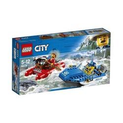 Lego City 60176 - Wild River Escape - Bộ xếp hình Lego Thuyền hơi tẩu thoát