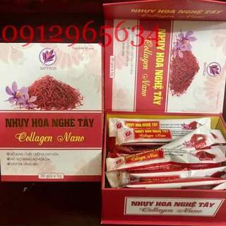 Bột nhuỵ hoa nghệ tây Saffron Collagen Nano giúp đẹp da cải thiện sức khoẻ tốt cho phụ nữ - 483 thumbnail