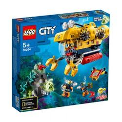 LEGO 60264 City - Tàu Ngầm Thám Hiểm Đại Dương