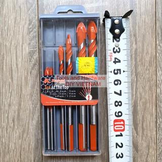 [Ảnh thật] [Chính hãng] Hộp 7 mũi khoan đa năng hãng Kapusi Nhật Bản các gồm các cỡ 3, 4, 5, 6, 8, 10, 12mm - KA-BMKDN-7PC thumbnail