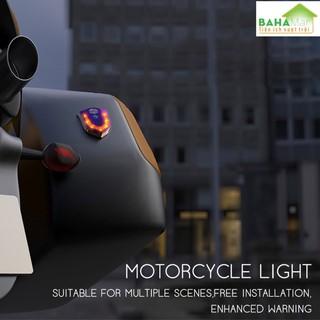 ĐÈN LED CẢNH BÁO DÁN MŨ BẢO HIỂM, DÁN XE MÁY CÓ SẠC ĐIỆN BAHAMAR cảnh báo hiệu quả và giúp lái xe an toàn hơn với công nghệ đốt Titan làm cho sản phẩm độc đáo hơn. - 0347 7
