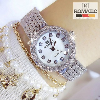 Đồng hồ nữ ROMATIC EOZE Mặt Xà Cừ Nhỏ Xinh Sang Trọng, Tặng Kèm Pin ĐH Dự Phòng - romatic_xacu_bac thumbnail