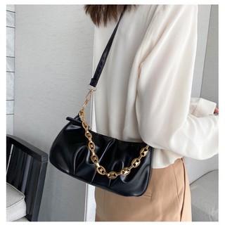 Túi đeo vai dây xích vàng to TN07 - 3461944051 thumbnail