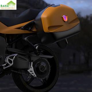 ĐÈN LED CẢNH BÁO DÁN MŨ BẢO HIỂM, DÁN XE MÁY CÓ SẠC ĐIỆN BAHAMAR cảnh báo hiệu quả và giúp lái xe an toàn hơn với công nghệ đốt Titan làm cho sản phẩm độc đáo hơn. - 0347 3