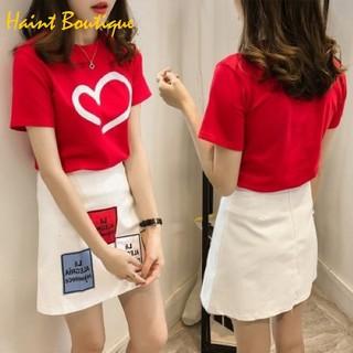 Set bộ Haint Boutique áo phông chân váy hình xinh qa19 - qa19 thumbnail