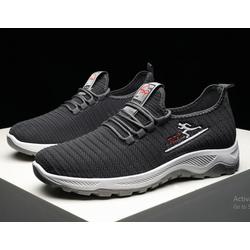Giày thể thao nam đen xám thời trang