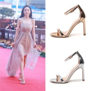 giày sandal cao gót sang chảnh 6cm HD35 - HD35 thumbnail