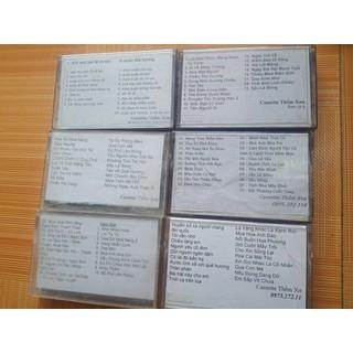 combo 6 băng cassette ca nhạc tuyển chọn chất lượng cao [ĐƯỢC KIỂM HÀNG] 36939356 - 36939356 thumbnail