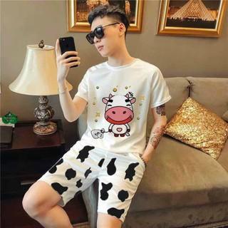 Set bộ in hình bò sữa nam nữ phong cách Hot - SBB_002 thumbnail
