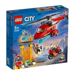 LEGO City Trực Thăng Cứu Hỏa 60281