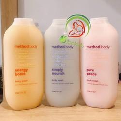 Sữa tắm organic Method Body 532ml