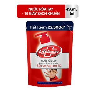 Nước Rửa Tay Lifebuoy Bảo Vệ Vượt Trội Túi 450g - 4077_44945731 thumbnail