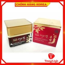Kem Dưỡng Da Hồng Sâm My Gold Hàn Quốc - Kem sâm dưỡng đêm giúp da mịn màng, căng bóng, trắng sáng, tranglinh