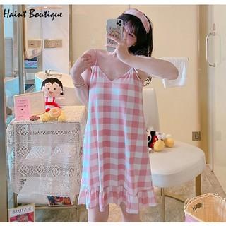 Váy ngủ, váy mặc nhà Haint Boutique đuôi cá 2 dây mát mẻ vn36 - 1942_44922761 thumbnail