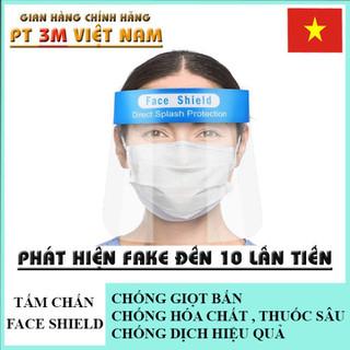 Tấm kính chắn giọt bắn Face Shield che kín mặt chống dịch - a123 thumbnail