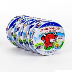 Phô Mai Con Bò Cười 8 miếng 1 hộp