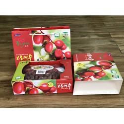 Hộp 1KG Táo đỏ Hàn Quốc sấy khô cao cấp