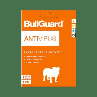 Phần mềm diệt virus BullGuard Antivirus 1 thiết bị 1 năm - am01009 thumbnail