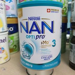 [cho xem hàng] Sữa Bột Nan Nga 3 800g MẪU MỚI DATE MỚI