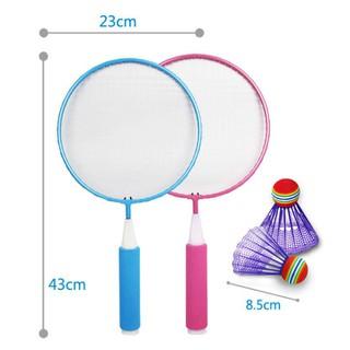 Bộ vợt đánh càu lông cho bé, Bộ vợt cầu lông cho bé, Bộ vợt cầu long trẻ em, Vợt cầu lông trẻ em,Bộ vợt và cầu lông nhỏ - BVCLCB10 thumbnail